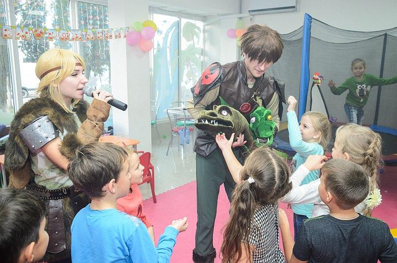 День рожденье с Драконами в Севастополе