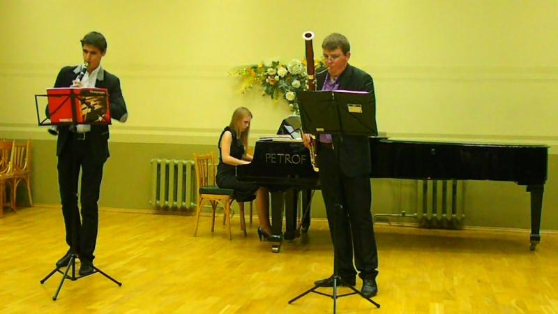 К. Крейцер. Трио op. 43 для кларнета, фагота и фортепиано. Исп. М. Белокурский, В. Пстыга, Ю. Белькевич