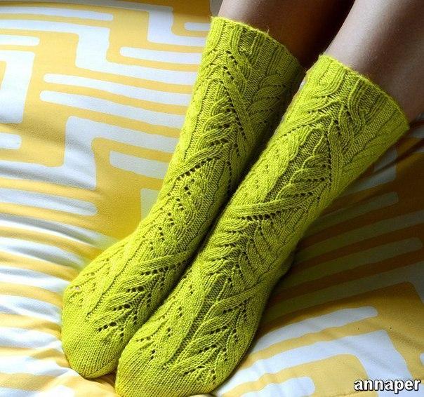 Ажурные носочки (4 фото) - картинка