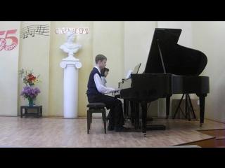 отчетный концерт 6 кл. Гендель.Концерт(соль минор,финал)