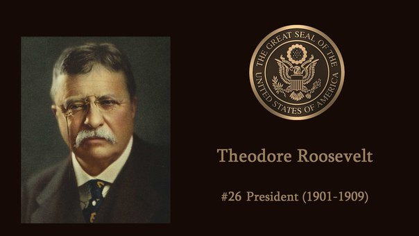 a brief biography of theodore roosevelt twenty sixth president of the united states The presidency was the centerpiece of theodore roosevelt's life (p ix), says  lewis l  on the twenty-sixth president of the united states lewis l gould.
