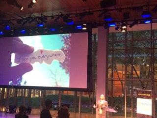 Владимир Мегре в Нью-Йорке на Всемирном молодежном саммите Nexus 2015. 2015 Nexus Global Youth Summit, New York City. Открытие.