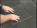 Укладка плитки под гребенку Технология