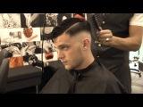 Andrew hair style RAZOR FADED HAIR CUT
