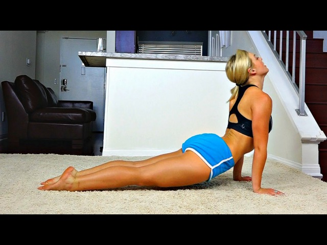 Home Yoga Workout for Improved Flexibility -- Full Length