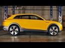 Audi h tron quattro SUV concept Interior and Exterior Design