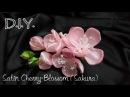D.I.Y. Satin Cherry-Blossom (Sakura) さくら | MyInDulzens
