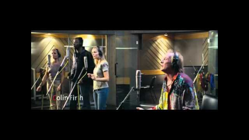Billy Mack Christmas Is All Around Love Actually first scene