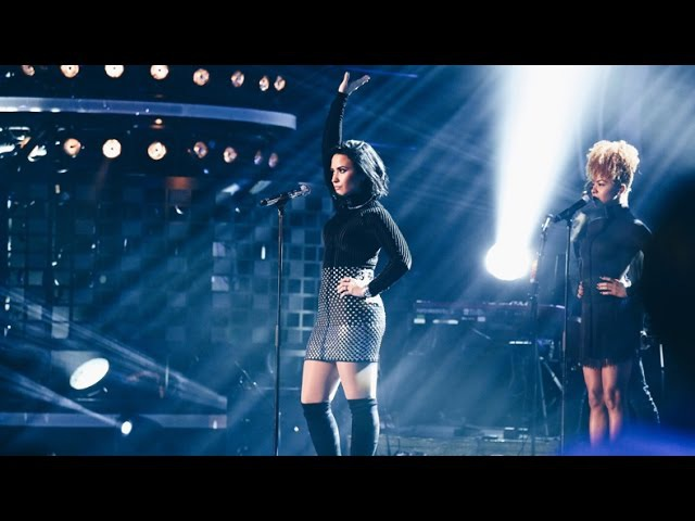 Demi Lovato Confident Live on Swedish Idol TV4