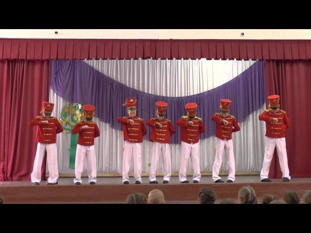 Впервые Гусарский танец в исполнении 4А и 3А