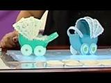 Como hacer una Cuna de Recordatorio para Baby Shower -Souvinir-Hogar Tv por Juan Gonzalo Angel