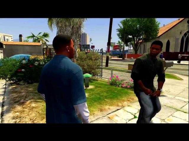 GTA 5 Lamar Davis - Nigga