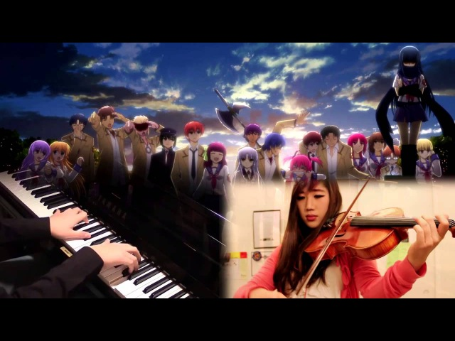 Brave Song (full) - Angel Beats ED [Piano/Viola] feat. xclassicalcatx