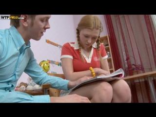 Русское порно с соседкой репетитором