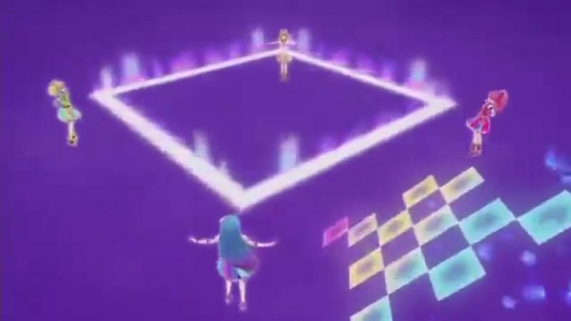 Aikatsu 2! Otoshiro Seira, Saegusa Kii, Kazesawa Sora, Himesato Maria - Happy Crescendo [Episode 72]