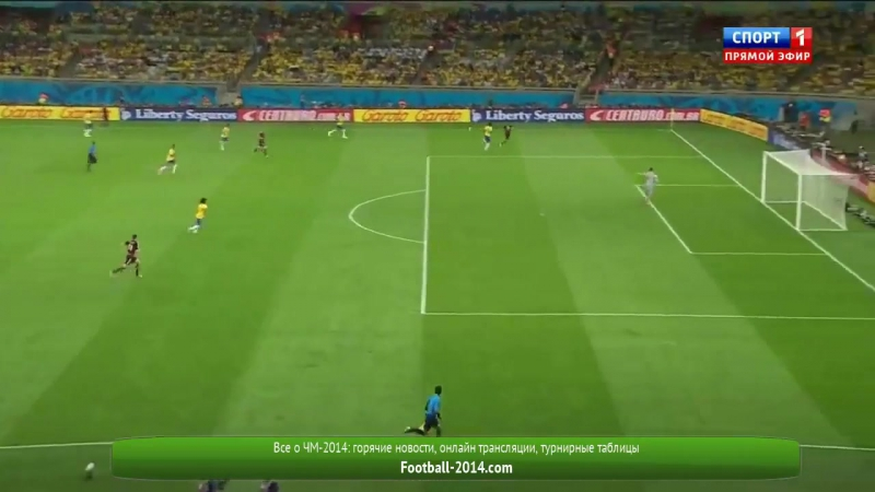 Brazil vs Germany 1 7 2014 FIFA World Cup