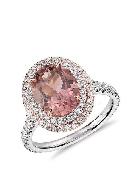 nXeyOSI7zEg - Розовые обручальные кольца (25 фото)