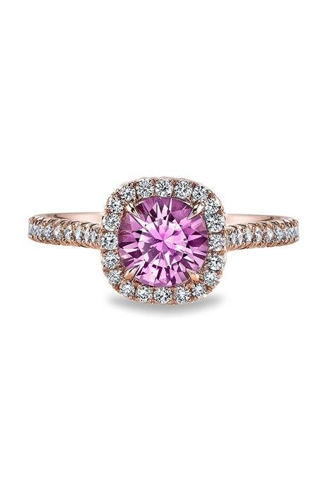 z09MaKdy0R4 - Розовые обручальные кольца (25 фото)
