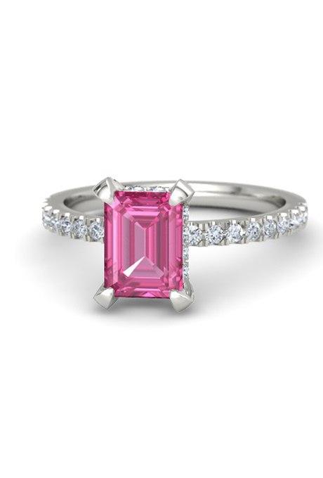 4qMzvvEEHUc - Розовые обручальные кольца (25 фото)