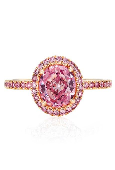 sI5OmD jjJg - Розовые обручальные кольца (25 фото)