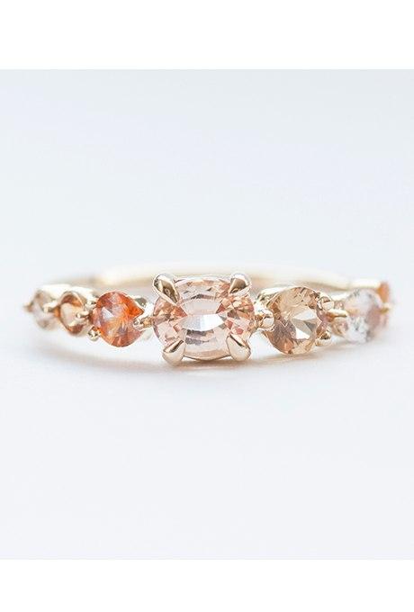 Pt9UBlbdmA - Розовые обручальные кольца (25 фото)