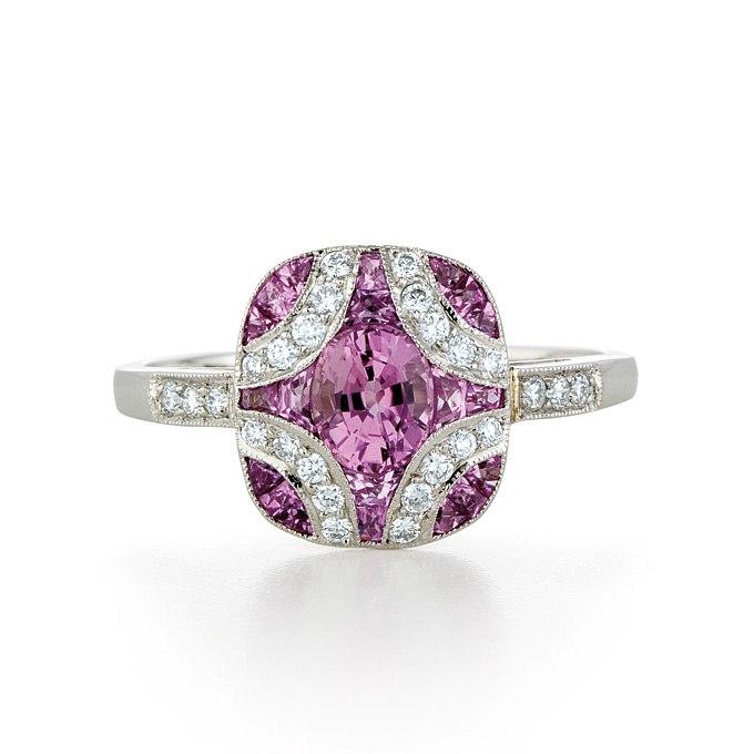 3I MNYY2a4 - Розовые обручальные кольца (25 фото)