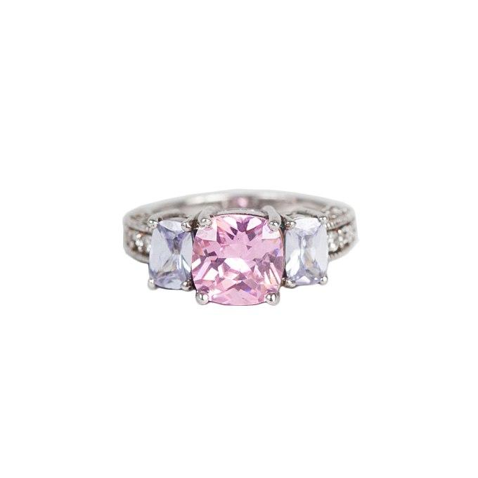 9INkNQFBtcs - Розовые обручальные кольца (25 фото) - 2