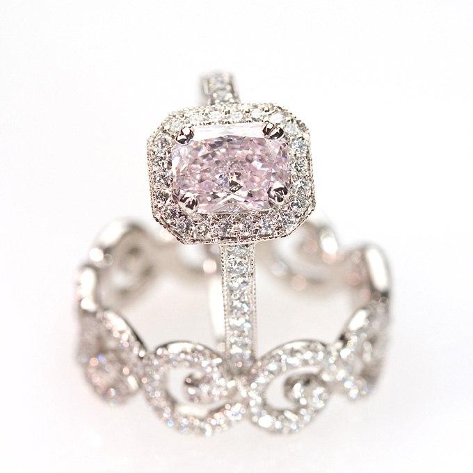 vtTgBLh22SI - Розовые обручальные кольца (25 фото) - 2