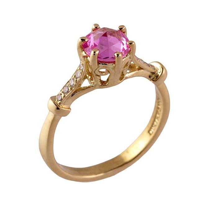 AZKXm9RGY7w - Розовые обручальные кольца (25 фото) - 2