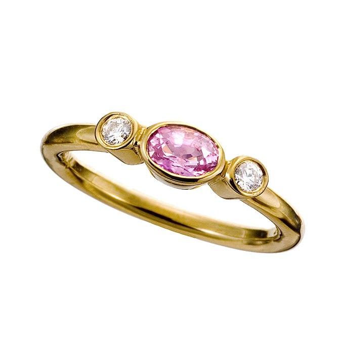 sfNqV5G5fM - Розовые обручальные кольца (25 фото) - 2