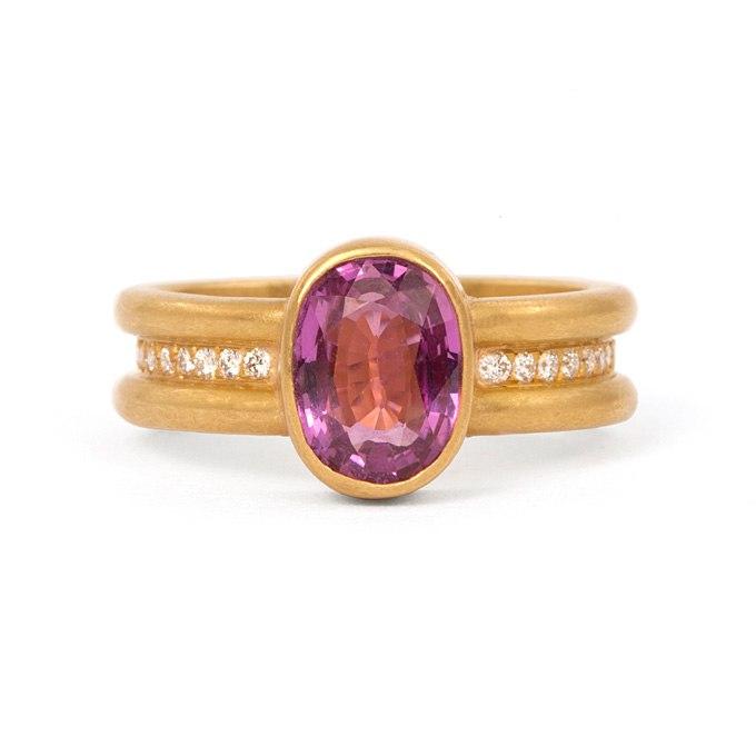 1YF4ghsmD1Y - Розовые обручальные кольца (25 фото) - 2