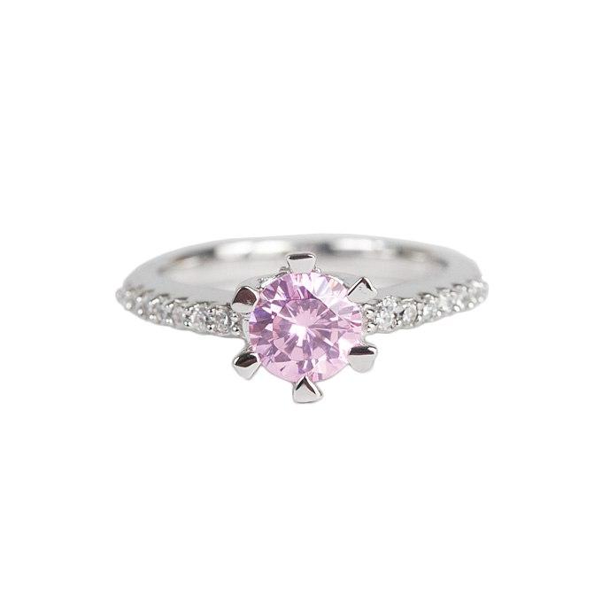 ZhDMiNgzSAg - Розовые обручальные кольца (25 фото) - 2