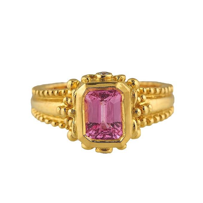bcAdDQ2yeS4 - Розовые обручальные кольца (25 фото) - 2