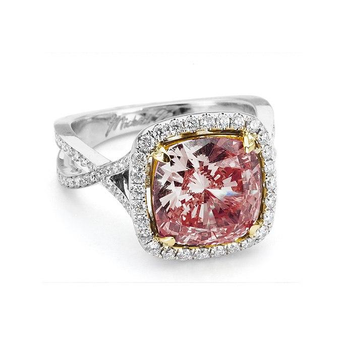 KWhQMde 5Ec - Розовые обручальные кольца (25 фото) - 2