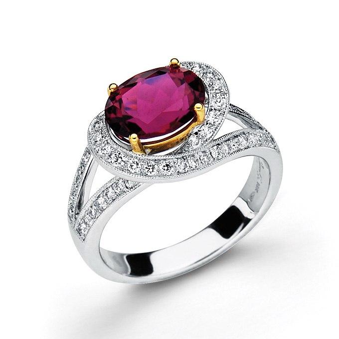 K7xJ1uZOWVg - Розовые обручальные кольца (25 фото) - 2
