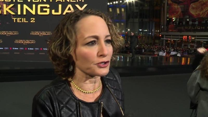Интервью Нины Джейкобсон на мировой премьере СП2 4 ноября Берлин