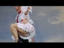 Русский народный танец на сцене Центрального парка Новосибирска