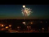 Арка победы открытие, салют вид с балкона 9 мая 2015