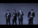 FROZEN - Let It Go (Saxophone Quartet) - The Moanin' Frogs