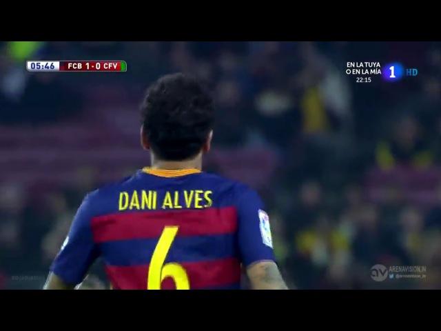 Dani Alves vs Villanovense (Home) (2/12/2015) by Kleo Blaugrana