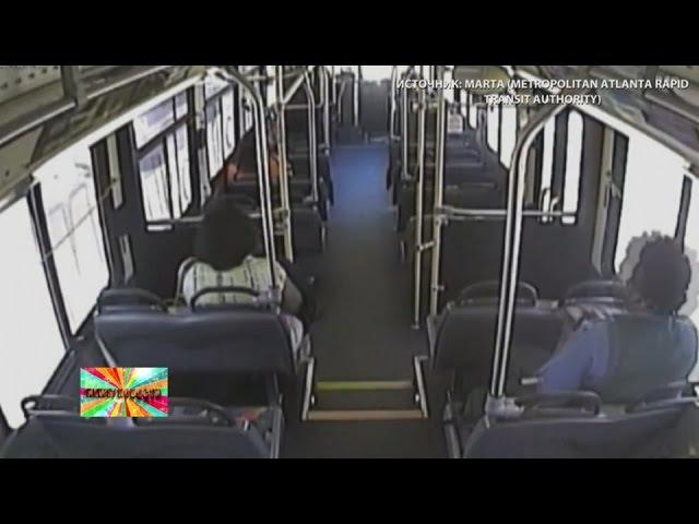 У США пасажири врятувалися за секунду до зіткнення з поїздом - відео