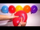 """""""The Balloons Popping Show"""" for LEARNING COLORS and LETTERS - Children's Educational Video"""