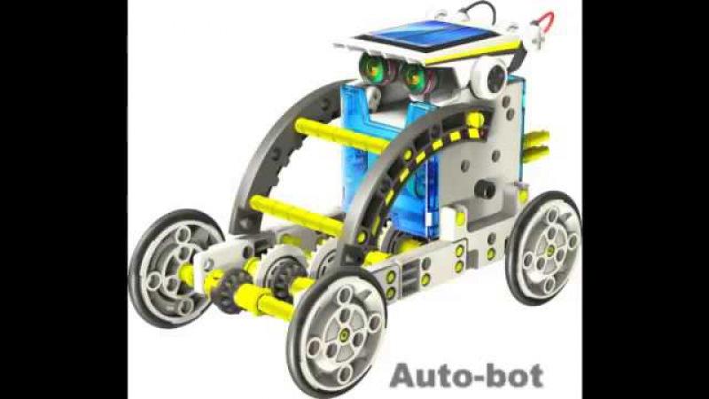 робот-конструктор solar 14-в-1