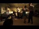 St Louis Shag Social Demo with Christian and Jenny and the Dukish Vagabonds live @ U64 Berlin