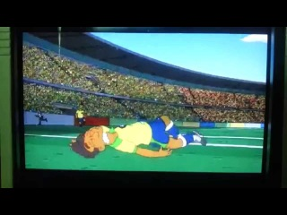 Forecast: Simpsons: Neymar Injury, and Brazil lost the game for Germany - Fifa World Cup Brazil 2014