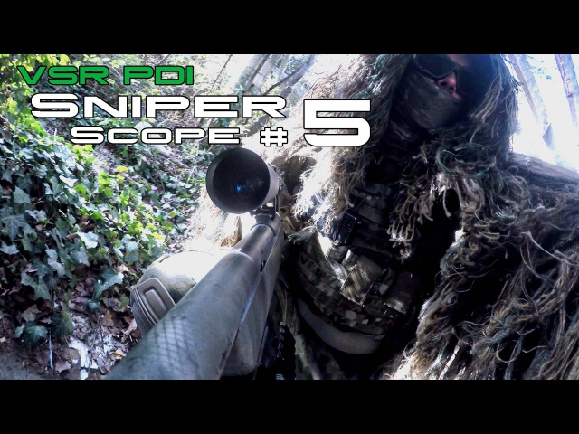 Sniper Gameplay I Sniper Scope 5 I VSR PDI [Independer / MDS]