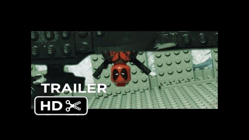 Lego Deadpool Red Band Trailer 2 recreation shot for shot