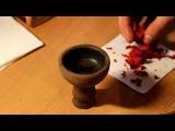Как правильно забивать кальян на большой глиняной чашке