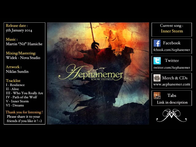 AEPHANEMER Know Thyself Full album Melodic Death Metal 2014