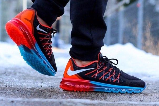 separation shoes f61d8 19b89 nike air max 2015 lunar black red купить